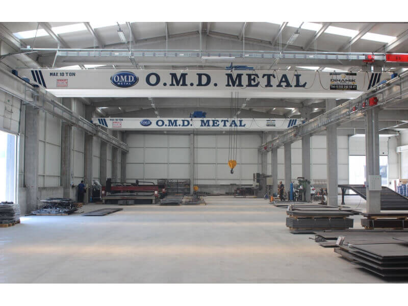 Double Girder Overhead Travelling Crane, Double Beam Eot Crane
