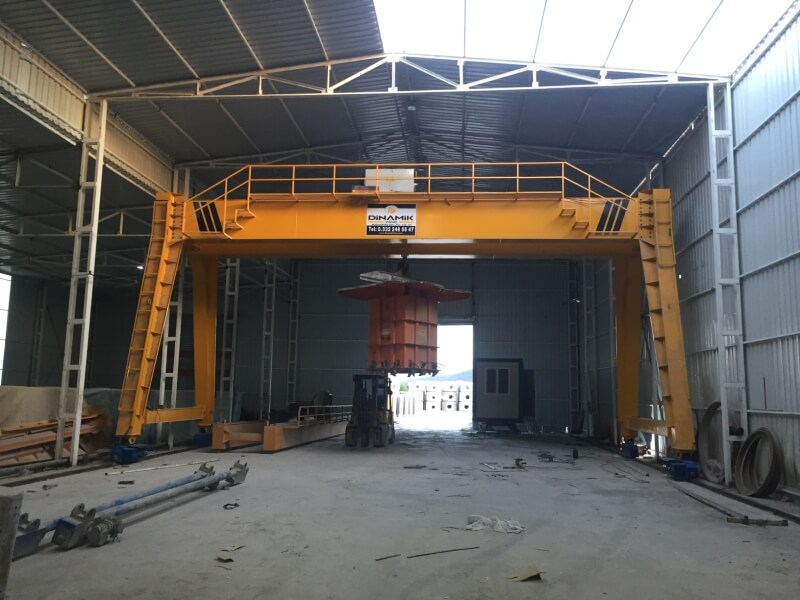 Log Gantry Portal Crane